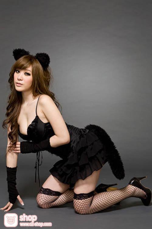 ชุดนางแมวแฟนซีเซ็กซี่